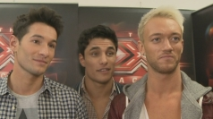 X Factor group Times Red talk about getting a wild card