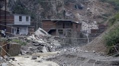A landslide in southwestern China in September.