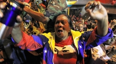 Chavez supporter