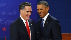 Barack Obama and Mitt Romney close US presidential debate