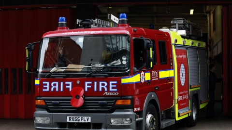 North Wales Fire and Rescue have launched an investigation.