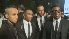 JLS dish out advice to X Factor contestants