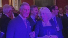 Kylie performs Locomotion for Charles and Camilla