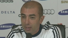 Di Matteo cautious ahead of Manchester United tie