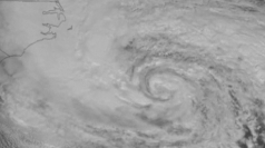 Hurricane Sandy time-lapse satellite animation