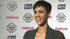 Zawe Ashton wins Ultimate Newcomer at Cosmo Awards