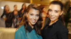 Kim and Kourtney Kardashian unveil fashion line