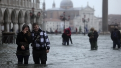 Venice floods leave St Mark's Square under water