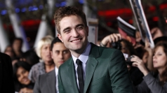Robert Pattinson at the Twilight premiere in LA.