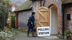 Polling station.