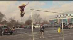 Extreme pogo stick jumping world record