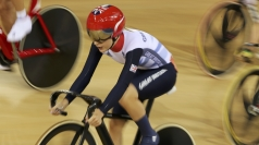 Laura Trott at 2012 Olympic Games.