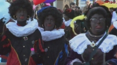 The Dutch Christmas parade where Santa's helpers 'black up'