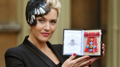Kate Winslet awarded CBE by the Queen