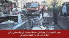 SYRIA: Two car bombs kill 20 in Damascas