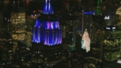 Alicia Keys kicks off Empire State Building light show
