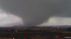AMAZING PICTURES: Tornado rips through steel plant in Italy