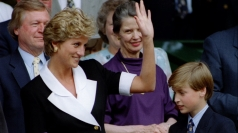 Princess Diana and William in 1994.