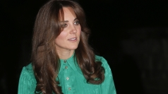Pregnant Kate being treated in hospital