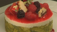 A cake with a twist - dogs get own festive treat.