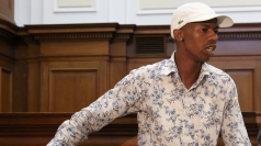 Xolile Mngeni in court.