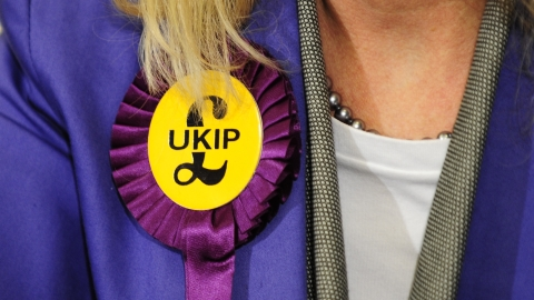 UKIP now UK's third largest party.