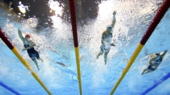 Swimming was among the losers when UK Sport revealed funding