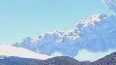 Chile's Copahue volcano spews smoke and ash