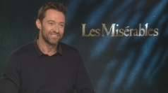 Les Miserables star Hugh Jackman on dieting and karaoke