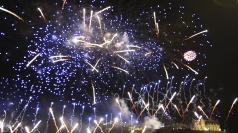 Edinburgh fireworks: Scotland celebrates Hogmanay