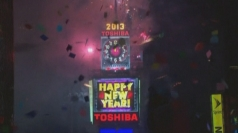 New Year celebrations in New York's Times Square