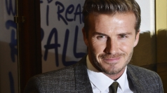Prince William and David Beckham celebrate the FA's 150th