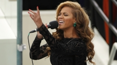Beyonce performs at President Obama's inauguration