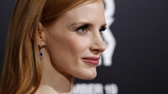 Jessica Chastain at Zero Dark Thirty premiere in US