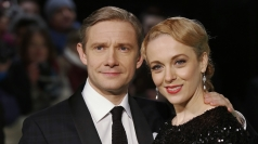 NTAs: Martin Freeman talks new Sherlock & more Hobbit films
