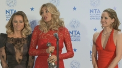 Strictly Come Dancing girls celebrate television award