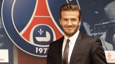 David Beckham left LA Galaxy late last year.