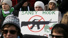 It comes after 20 children were murdered at Sandy Hook.