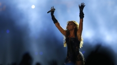 Beyonce at the Super Bowl: Star hits the stage for half-time