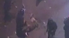 Shocking video: Egyptian riot police beat naked protester