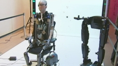 Bionic man goes on display in London