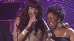 Jennifer Hudson and Gladys Knight wow at pre-Grammys party