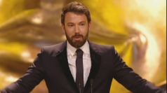 BAFTAs 2013: Ben Affleck makes emotional acceptance speech
