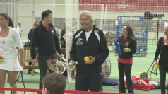Sir Richard Branson talks Harry Styles and tennis dating