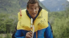 Bear Grylls stars in Air New Zealand safety video