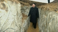 Kim Jong-un visits one of his defense detachments