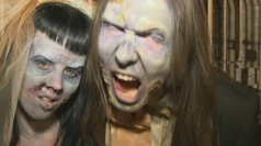 Liverpool couple tie the knot in UK's first zombie wedding