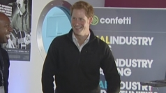 Prince Harry puts his DJ skills to the test