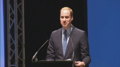 Prince William opens new Warner Bros studio