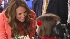 Kate Middleton visits Naomi House Children's Hospice